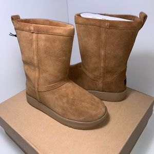 Ugg Womens Classic Short Waterproof Boot Chestnut